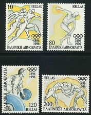 OLYMPIC GAMES ATLANTA 1996 MNH, Runners Wrestlers Discus thrower Weight lifting.