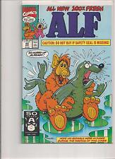 Alf #48 1991 First Printing Marvel Comic Book