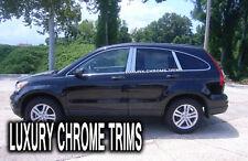 Honda CR-V Stainless Steel Chrome Pillar Posts by Luxury Trims 2007-2011 (6pcs)