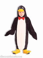 FORUM PLUSH PENGUIN JUMPSUIT CHILD HALLOWEEN COSTUME TODDLER 2-4T 60523