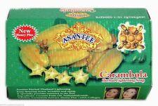 2 Bars - Asantee Carambola (STAR FRUIT)  Beauty Soap 135g./4.6oz.     USASELLER