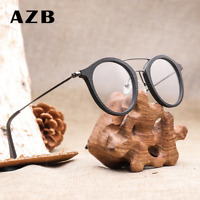 AZB Unisex Imitate Wood Clear Lens Eyeglasses Frame Retro Optical Glasses New
