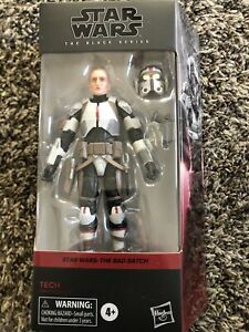 Star Wars TECH The Black Series 6 Inch Action Figure Bad Batch NEW IN HAND