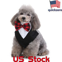 Fashion Dog Bow Tie Adjustable Pet Collar Grooming For Cat Puppy Necktie Bowtie