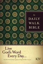 The Daily Walk Bible : Live God's Word Every Day... (2008, Hardcover, Revised)