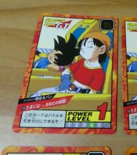 DRAGON BALL GT Z DBZ SUPER BATTLE PART 17 CARDDASS CARD CARTE 725 JAPAN 1996 NM