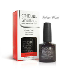 Cnd Gomme-Laque Gel UV Vernis - Poison Prune 7.4ml