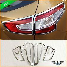 Nissan Qashqai J11 Rücklicht Licht Leuchte Zubehör Chrom Abdeckung Dekoration