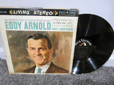 "EDDY ARNOLD Sings Them Again 12"" Vinyl Record Album LP Original"