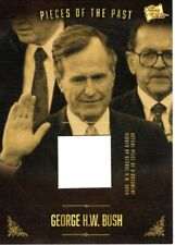 PIECES OF THE PAST VOLUME TWO GEARGE H.W. BUSH SIGNED DOCUMENT PIECE CARD
