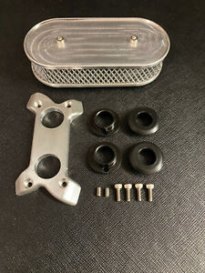 1/4 Scale V8 Oval Filter with Adaptor Plate