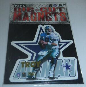 Troy Aikman 1996 Chris Martin Ent. NFL Die-Cut Magnets Dallas Cowboys