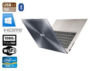 "ASUS ZenBook Prime UX31A i7 3517U 4GB 120GB SSD 13,3"" FULL HD IPS"
