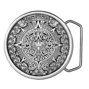 Aztec Calendar Belt Buckle 08-I98 IMC-Retail