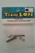 TEAM LOSI FR STUB AXLES & SCREWS:XXX LOSA1133