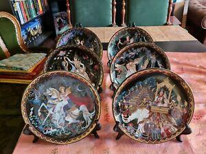 Royal Thai Porzellan Sammelteller aus ''The Love Story of Siam'' aus Thailand