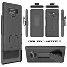 Black Armor Holster Swivel Belt Clip Hard Slim Case Cover for IPhone/Samsung/LG