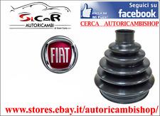 2 CUFFIE DX E SX Giunto OMOCINETICO Lato Ruota FIAT 500 - 600  FIAT PANDA 141A