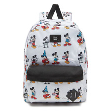 VANS x DISNEY Mickey Mouse Backpack NEW Through The Ages OLD SKOOL - 90th Anniv.