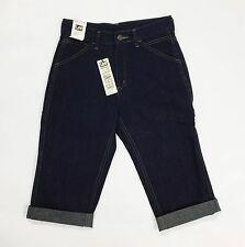 Lee carpenter shorts jeans w27 tg 40 41 nuovo work wear blu donna uomo T2109