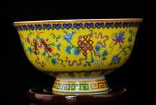 CHINESE PORCELAIN BOWL HAND-PAINTED eight treasures QIANLONG MARK