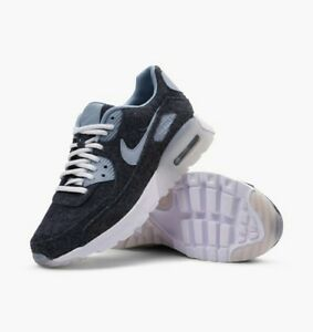 Nike Womens Air Max 90 Ultra Premium Navy Trainers 859522 400 Multiple Sizes