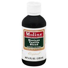 #2273 Mexican Vanilla Blend Molina Vainilla 4FL/OZ Extract Classic Original Smal