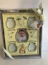 "Disney Baby Winnie the Pooh Baby Milestone Large Frame 11"" x 9"" Brand New"