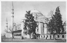 Constantinople Turkey Mosque Souleymanie Antique Postcard (J34534)