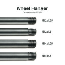 Otis Inc LA SET OF 4 Aluminum Wheel Hangers M12x1.25 M14X1.5 M14x1.25 M12X1.5
