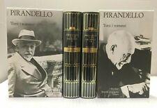 Pirandello TUTTI I ROMANZI Mondadori 2 Volumi I Meridiani Collezione 8-9 Libri
