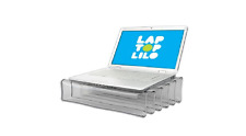 Laptop Holder Notebook Tablet Inflatable Stand Clear Support Laptop lilo