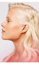 FREE PEOPLE New Set of 4 STAR Hair Clips Bobby Pins Gold Copper Anthropologie