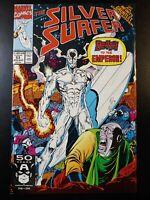 🏄 SILVER SURFER #53 Infinity Gauntlet (vol 3) (1991 Marvel Comics) VF Book