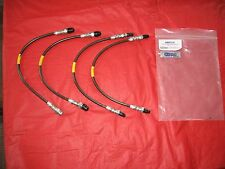 STAINLESS BRAKE LINE KIT For Land Rover Discovery 1  (1994-1999) ABP214
