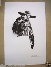 Cad Bane Star Wars the Clone Wars original drawing artwork sketch RARE