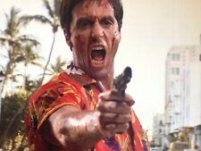 SCARFACE Photo - Al Pacino Color Glossy 8x10 Movie Print - Gangster Gun