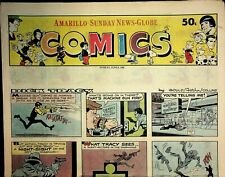 Amarillo Sunday News Globe Comics June 8 1980 Peanuts Dick Tracy 021220AME