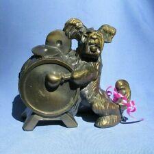 "1940 Skye Silky Yorkshire Terrier Briard K & O Dog w Drum 5"""