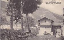 8598) LIMONE CUNEO VALLE VERMENAGNA FONTANA DETTA DEL CASTELLANO.