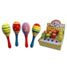 Fun Factory Mini Wooden Maracas Musical Shakers