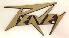 Peavey Sm. Gold Logo (Lighting Bolt Style) as used Some Amps & Cab's NOS