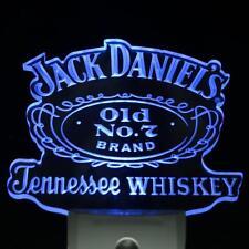 Jack Daniels Tennessee Whiskey LED Neon Sign Day Night Sensor Light Bar Club Pub