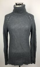 Laura Clement Collection Sweater 2 4 Gray Cowl Neck Mohair Wool France