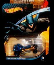 Hotwheels DC Comics BATMAN HOT ROD - 2014 Mattel - New