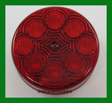 """Maxxima 2-1/2"""" Round Clearance Side Marker light 8 LED Red Lens Grommet Mount"""