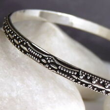 Bangle Sterling Silver 20 - 21.49cm Fine Bracelets
