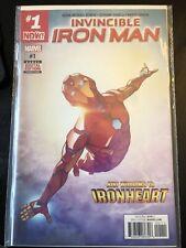 Invincible Iron Man #1( Riri Williams Ironheart)