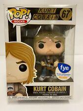 Funko Pop! Rocks Kurt Cobain (Nirvana) #67 f.y.e. Exclusive