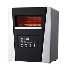 Wall Mini Space Heater 1000W Plug Home Insta Electric Warmer with Timer & Remote